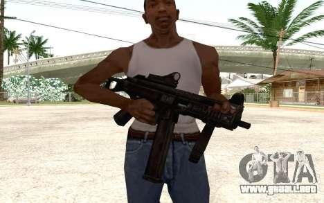 UMP 45 para GTA San Andreas segunda pantalla
