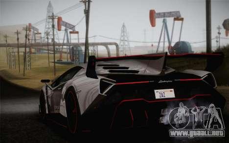 Lamborghini Veneno LP750-4 2013 para GTA San Andreas left