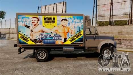 Estrellas de la lucha en el Yankee para GTA 4 vista interior