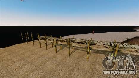 No hay agua para GTA 4 tercera pantalla