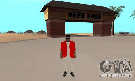 Kaney West para GTA San Andreas tercera pantalla