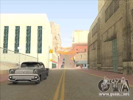 Reflexión única ENB en máquinas para GTA San Andreas sucesivamente de pantalla