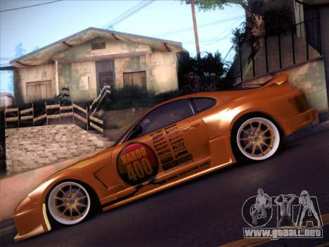 Toyota Supra Top Secret V12 para vista lateral GTA San Andreas