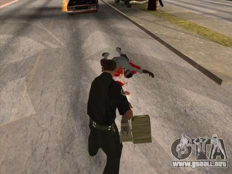 TVNS para GTA San Andreas novena de pantalla