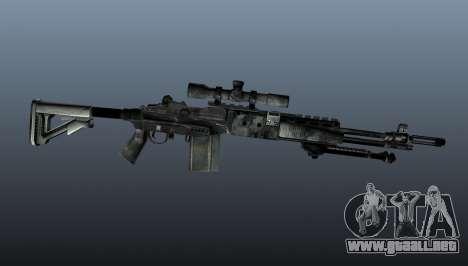Rifle de francotirador M21 Mk14 v3 para GTA 4 tercera pantalla