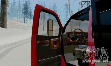 GMC C4500 Topkick para GTA San Andreas vista hacia atrás