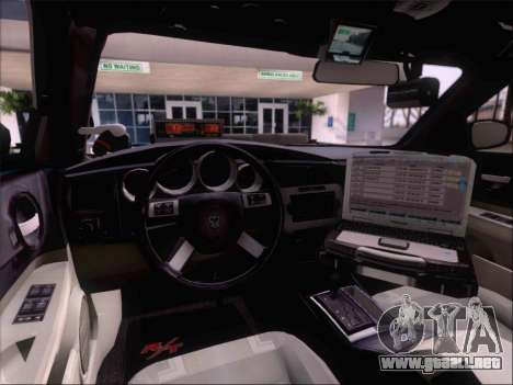 Dodge Charger San Andreas State Trooper para el motor de GTA San Andreas