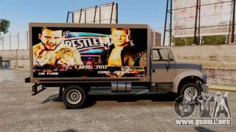 Estrellas de la lucha en el Yankee para GTA 4 Vista posterior izquierda