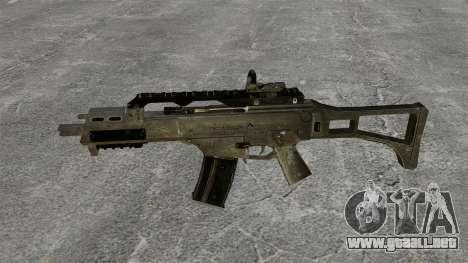 Assault Rifle G36C para GTA 4 tercera pantalla