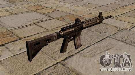 El fusil de asalto LR-300 para GTA 4 segundos de pantalla