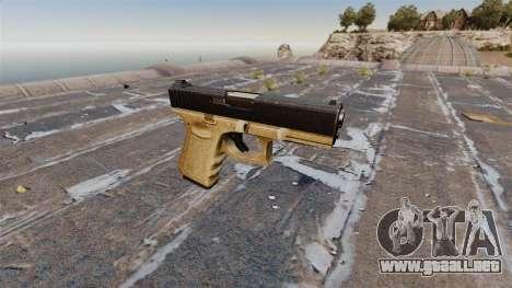 Pistola semiautomática Glock 19 para GTA 4