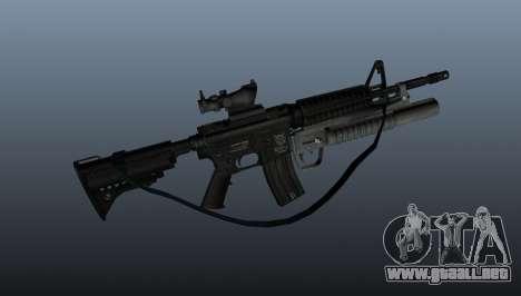 Automático carabina M4A1 v2 para GTA 4 tercera pantalla