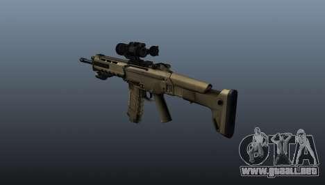 Rifle de asalto Magpul Masada para GTA 4 segundos de pantalla