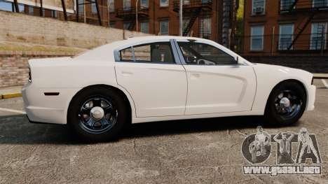Dodge Charger 2014 para GTA 4 left