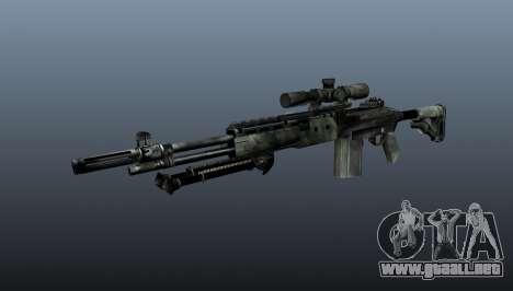 Rifle de francotirador M21 Mk14 v6 para GTA 4