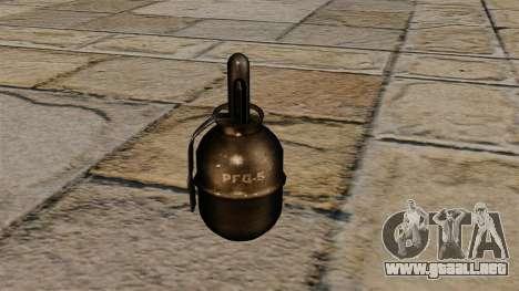 Granada de mano RGD-5 para GTA 4