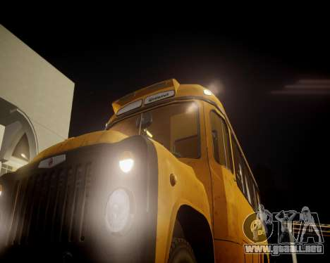 Escuela Kavz-685 para GTA 4 vista hacia atrás