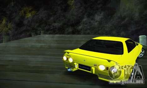Nissan Skyline R32 GT-R para GTA San Andreas left