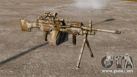 Ametralladora ligera Mk 48 para GTA 4