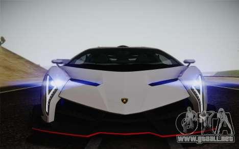 Lamborghini Veneno LP750-4 2013 para la vista superior GTA San Andreas