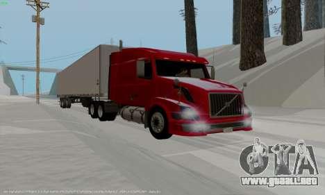 Volvo VNL 630 para GTA San Andreas left