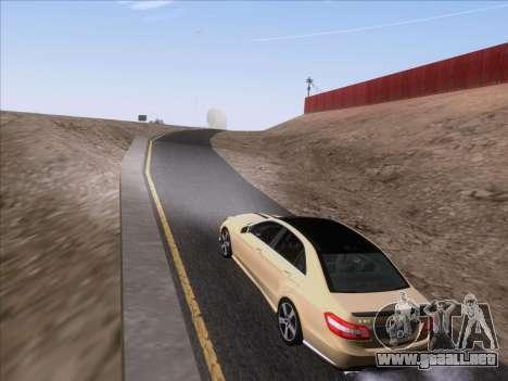 Mercedes-Benz E63 AMG 2011 Special Edition para visión interna GTA San Andreas