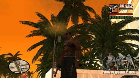 Pistola semi-automática para GTA San Andreas segunda pantalla