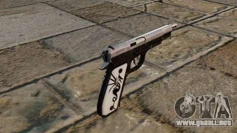 Actualizado Pistola CZ75 para GTA 4 segundos de pantalla
