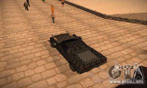 Cheetah Zomby Apocalypse para GTA San Andreas left