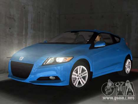 Honda CR-Z 2010 para GTA Vice City left