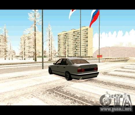 BMW 5 E34 calambres-er para GTA San Andreas left