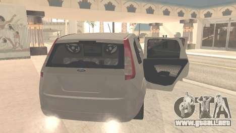 Ford Fiesta Rocam Edit para la visión correcta GTA San Andreas
