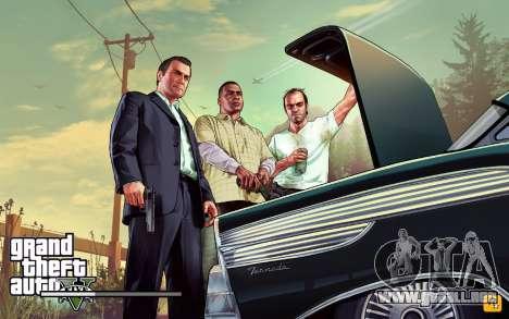 GTA V to SA: LoadScreens para GTA San Andreas octavo de pantalla