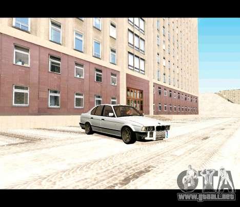 BMW 5 E34 calambres-er para GTA San Andreas