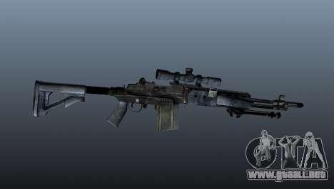 Mk14 M21 sniper rifle v2 para GTA 4 tercera pantalla