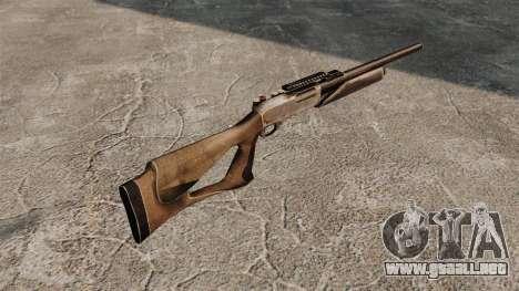 Escopeta E870 para GTA 4 segundos de pantalla