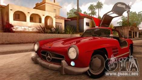 Mercedes-Benz 300SL Gullwing para visión interna GTA San Andreas