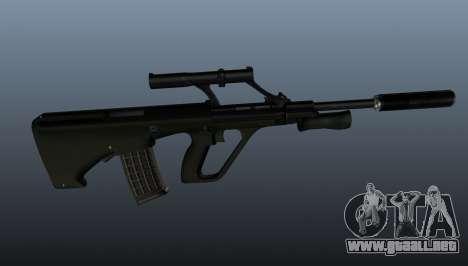 Fusil automático STEYR AUG para GTA 4 tercera pantalla