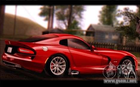 SRT Viper Autovista para la visión correcta GTA San Andreas