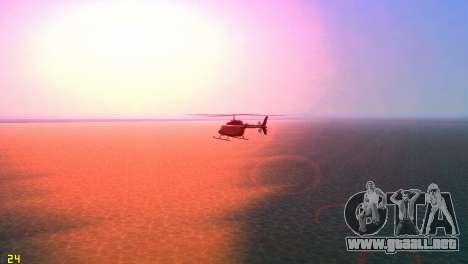 Sun effects para GTA Vice City quinta pantalla
