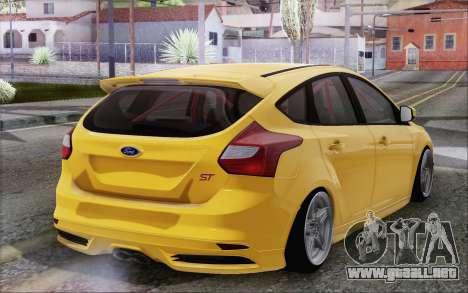 Ford Focus ST para GTA San Andreas left