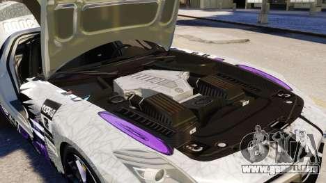 Mercedes Benz SLS AMG 2011 v3.0 [EPM] para GTA 4 vista desde abajo