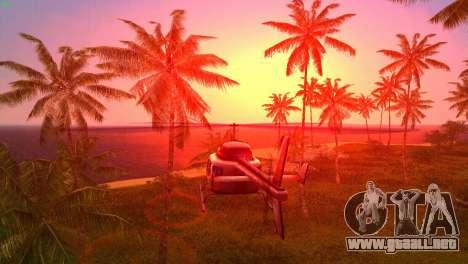Sun effects para GTA Vice City sexta pantalla