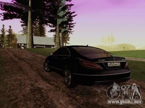 SA_RaptorX v1.0 para PC débil para GTA San Andreas quinta pantalla