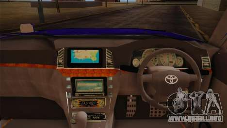 Toyota Land Cruiser 100VX para la visión correcta GTA San Andreas