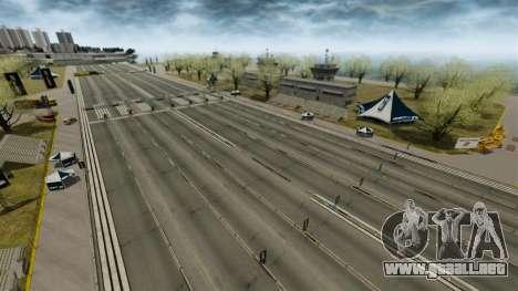 Euro Drag Strip para GTA 4 tercera pantalla