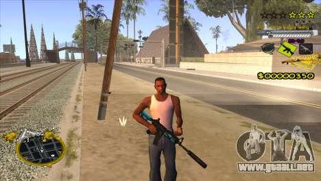 C-HUD Vagos Gang para GTA San Andreas tercera pantalla