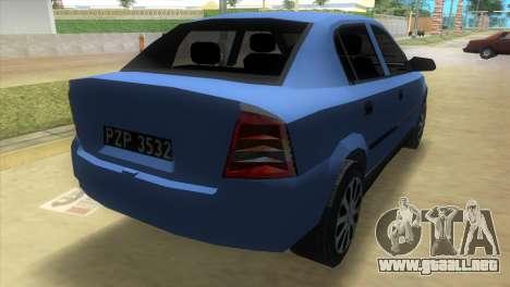 Opel Astra 4door 1.6 TDi Sedan para GTA Vice City left