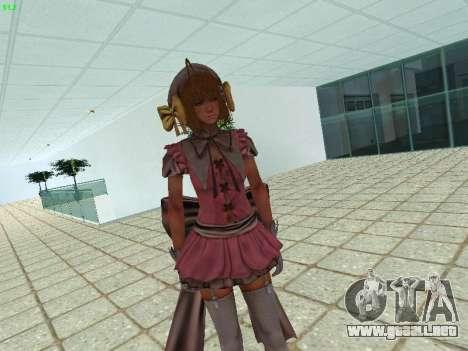 Juliet Starling para GTA San Andreas tercera pantalla