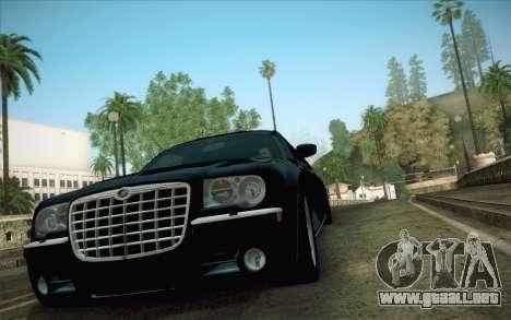 Chrysler 300C Limo 2007 para GTA San Andreas vista hacia atrás